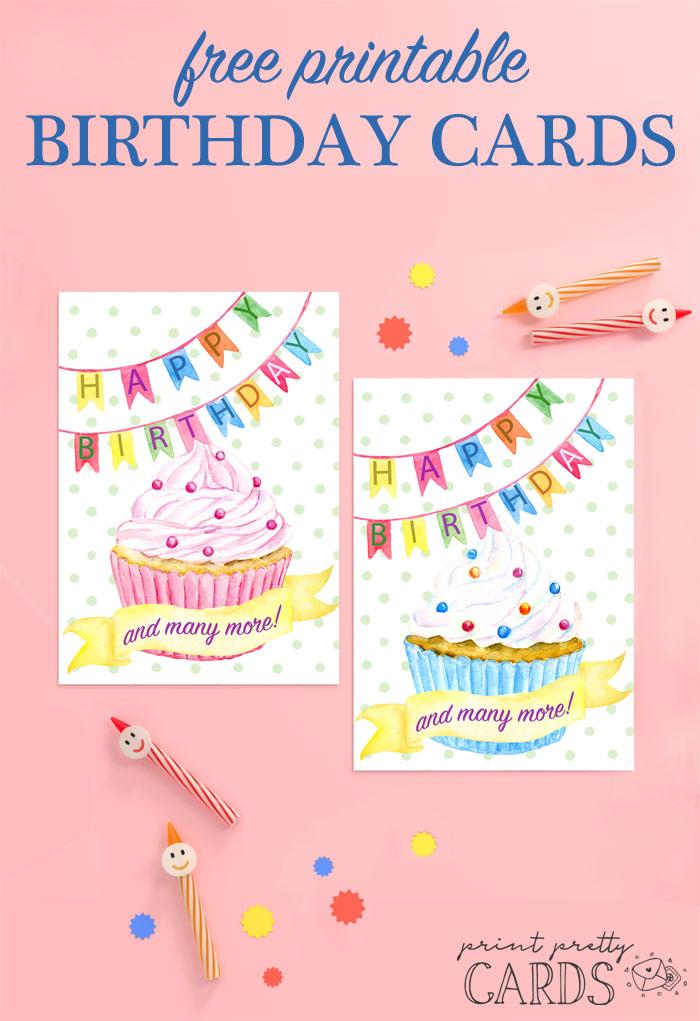 Free Happy Birthday Card Printable