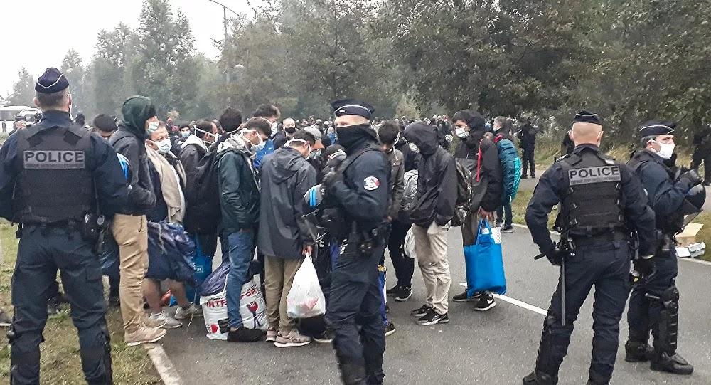 Calais : Altercation entre policiers et migrants, huit CRS blessés