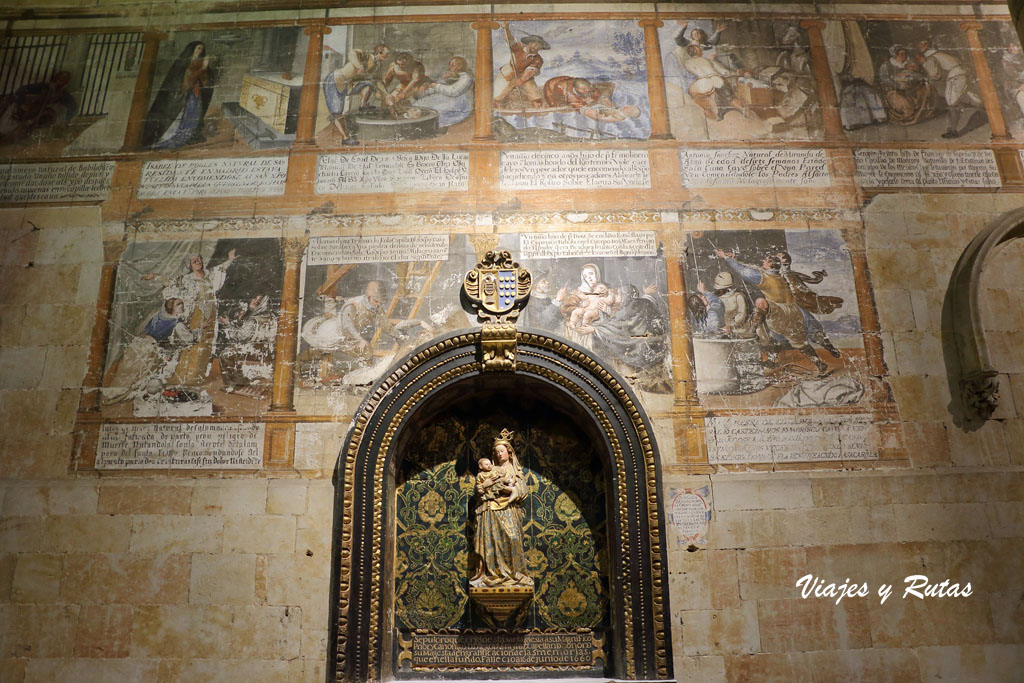 Altar de Santa María la Blanca de Catedral Vieja de Salamanca