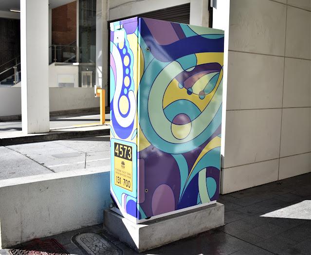 Burwood Utility Art | Painted Signal Box