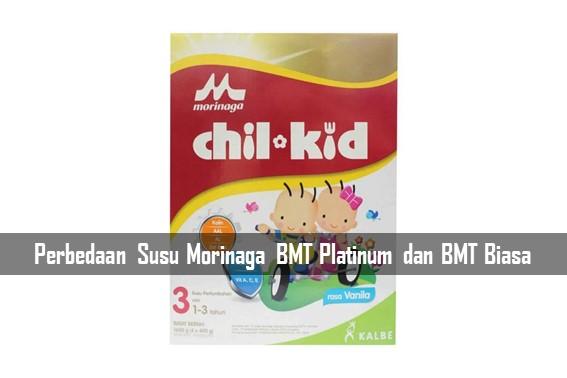 Perbedaan Susu Morinaga BMT Platinum dan BMT Biasa