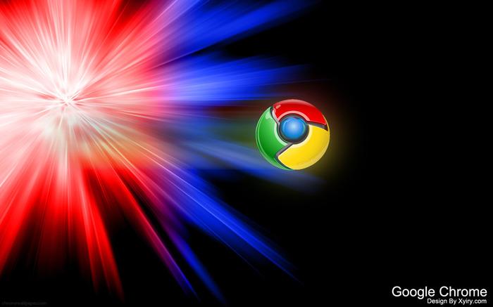 wallpaperew: Black Google Chrome Wallpapers