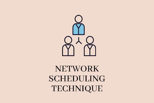 Network scheduling techniques in project management