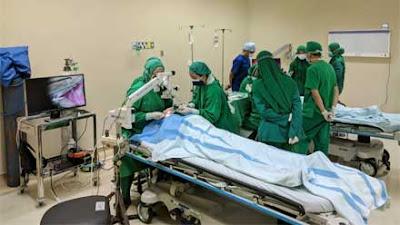 Dies Natalis ke-60, Fakultas Kedokteran Undip Selenggarakan Operasi Katarak Massal