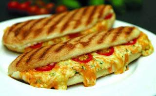Turkish Panini (Sucuklu-Sebzeli Tost)