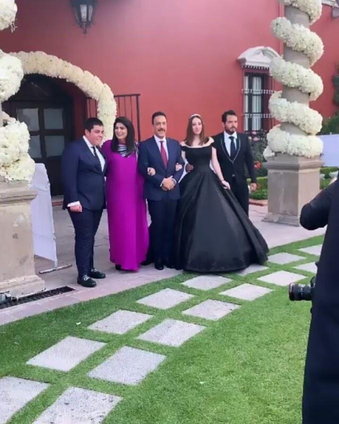 El original vestido de XV años de la hija de Victoria Ruffo