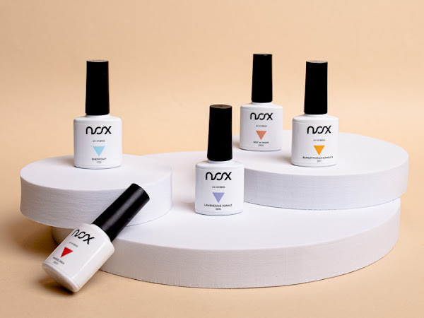 375. Recenzja lakierów hybrydowych NOX Nails + zdjęcia produktowe