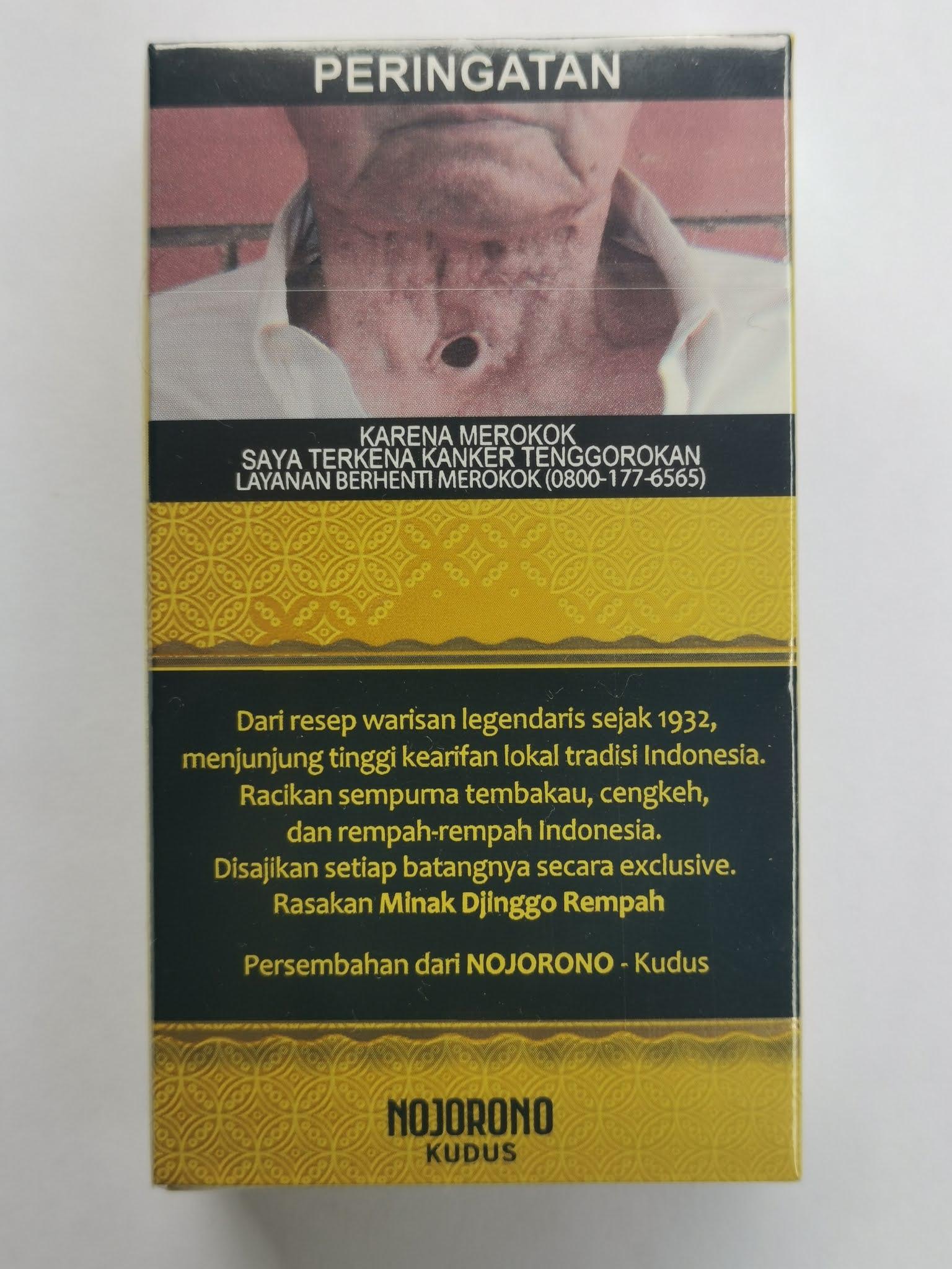 Minak Djinggo Rempah Skt King Size Isi 10 Batang Pertama Dengan Rempah Khas Indonesia Review Rokok