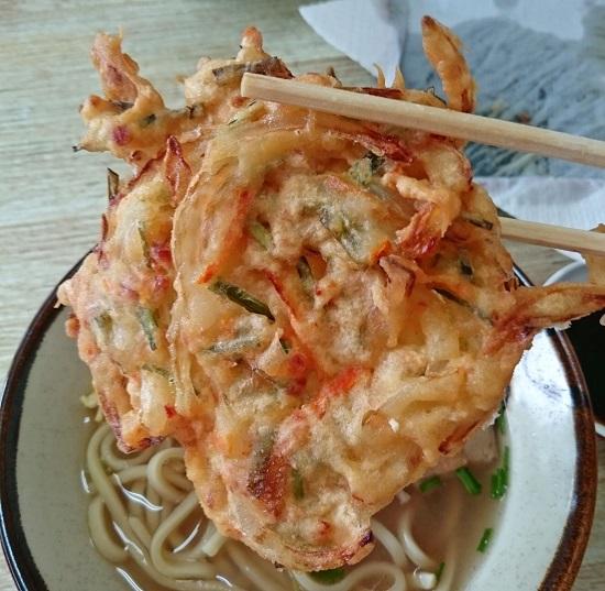 野菜天ぷらの写真