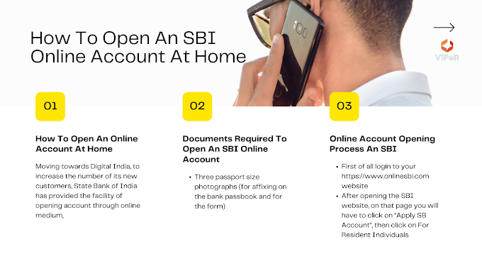 How To Open An SBI Online Account At Home