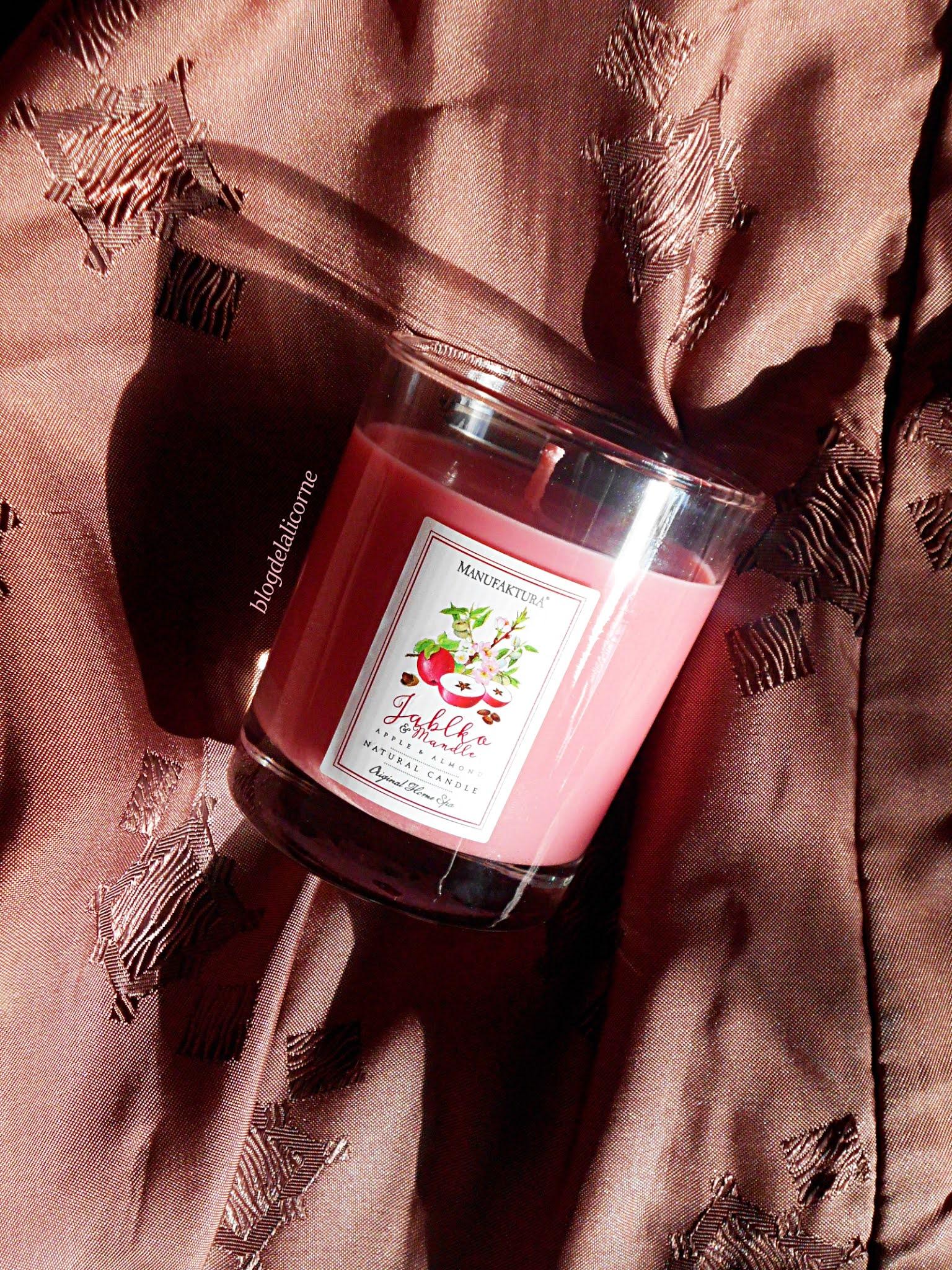 Prírodná vonná sviečka Jablko & Mandle recenzia