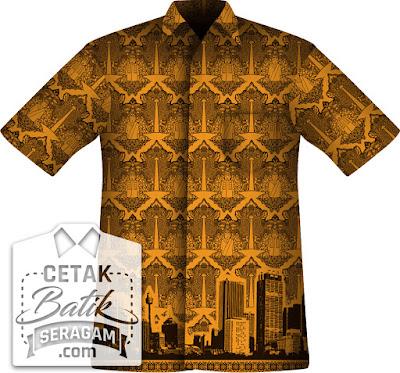 seragam batik custom