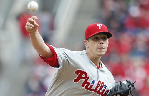 Jeremy Hellickson tossed six strong innings for the Phillies in season opener against the Reds.