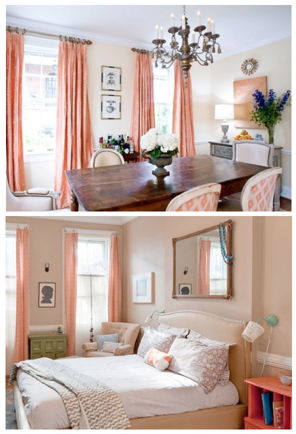 10 Rooms Peach Amp The Return Of Pastels