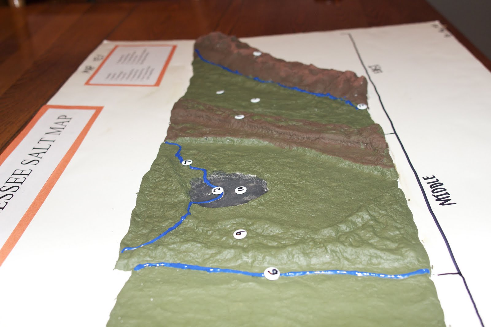 shoutingforha: The Tennessee Salt Map on salt dough project california regions map, 3d landform project map, create your own island project map,