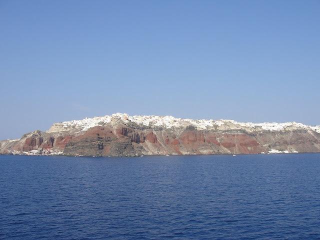 Oia e Santorini, Grécia.