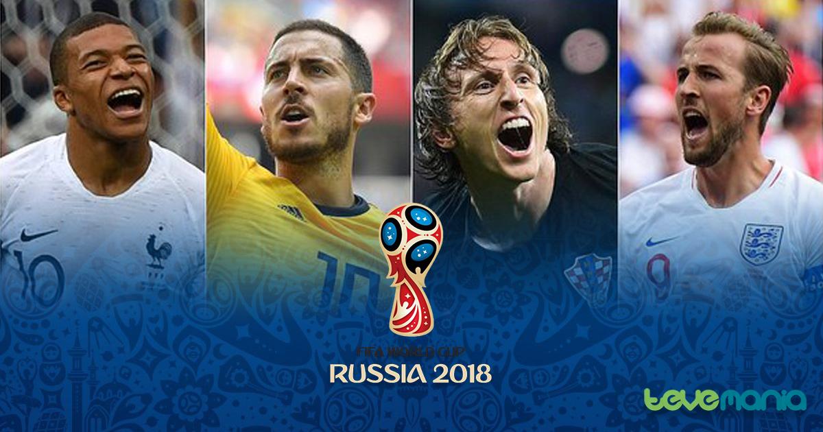 Semifinales Mundial Rusia 2018 en vivo: Canales, fixture y horarios