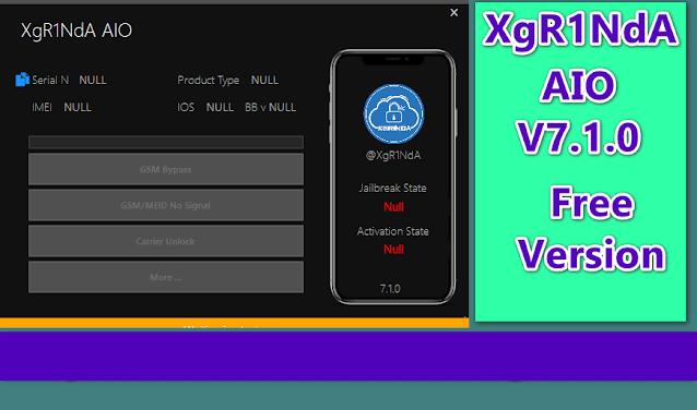 XgR1nda AIO tool 7.1.0