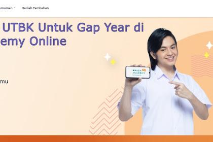 Review Paket Persiapan UTBK Untuk Gap Year di Brain Academy Online