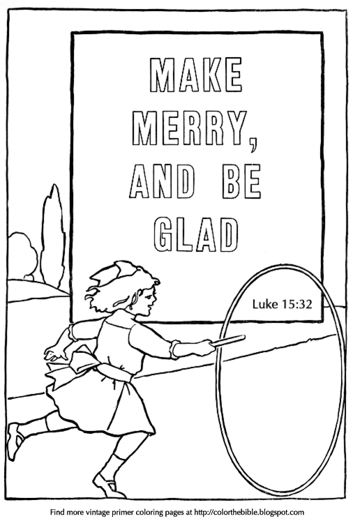 coloring pages luke 7 - photo#31