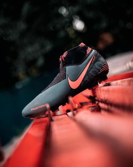 Dark Grey Nike Phantom Vision 'Phantom Fire' Boots Released