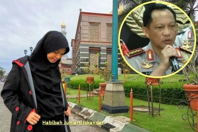 Surat Untuk Pak Kapolri Jenderal Tito dari Putri Sriwijaya : Berita Terbaru Hari Ini