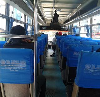 Interior Bus Solo Pacitan