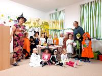 Halloween ve školce