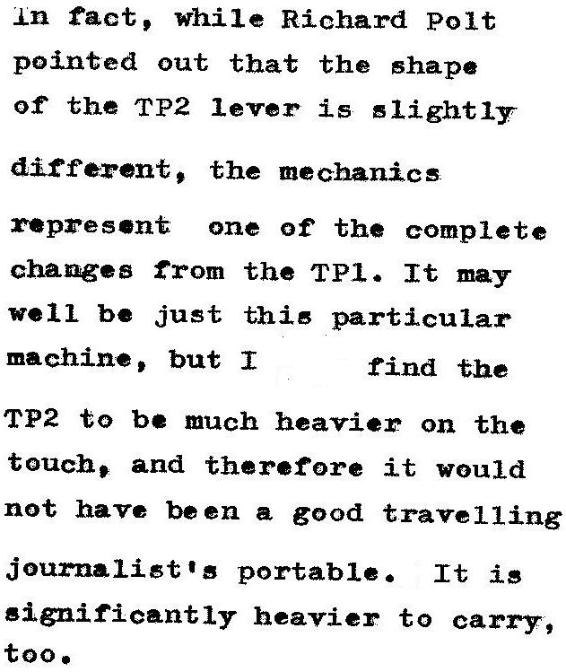 oz.Typewriter: Facit v Facit: The TP1 and TP2 Portable