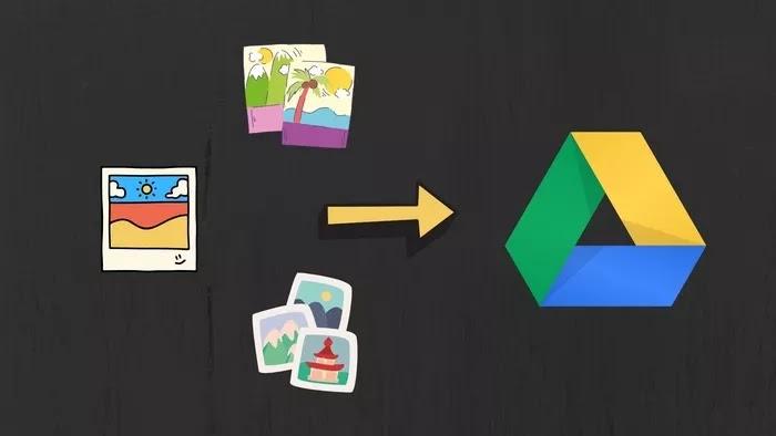 Upload Foto ke Cloud Google Drive