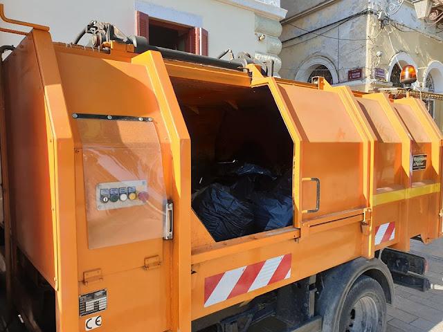 Ναύπλιο: Νέο απορριμματοφόρο πρέσα για την αποκομιδή απορριμμάτων από την παλιά πόλη