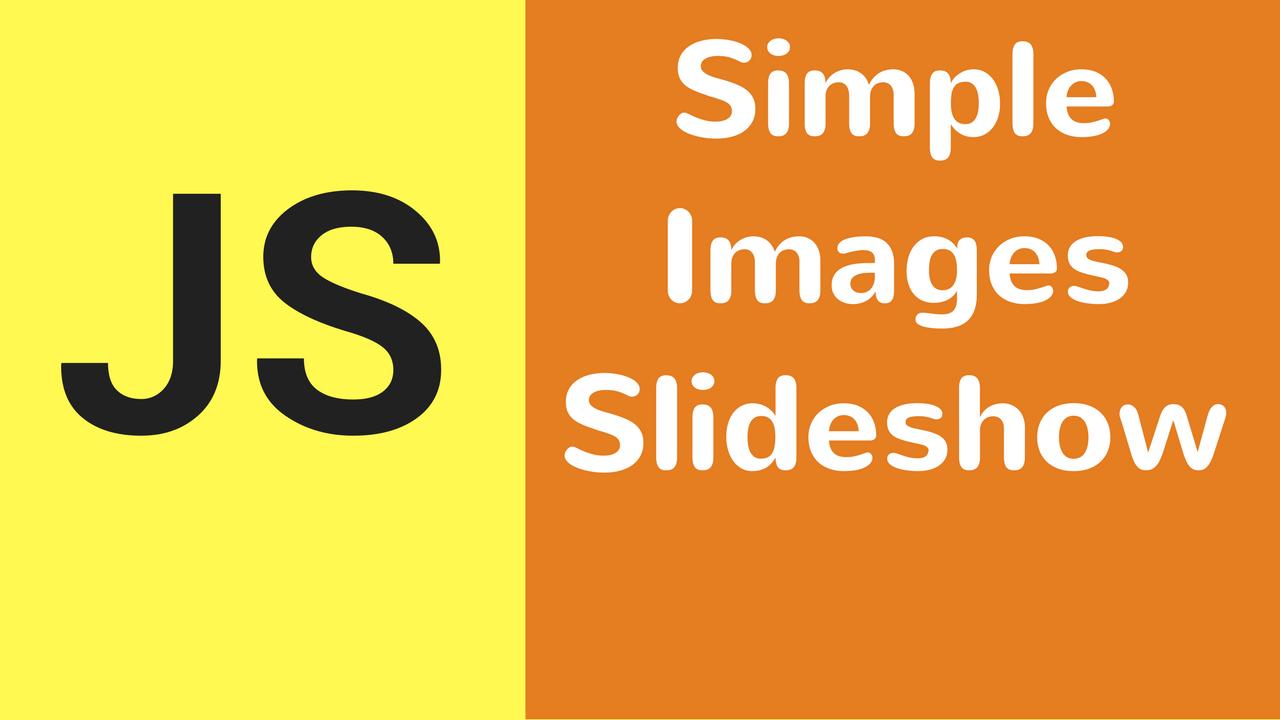 javascript simple image sideshow
