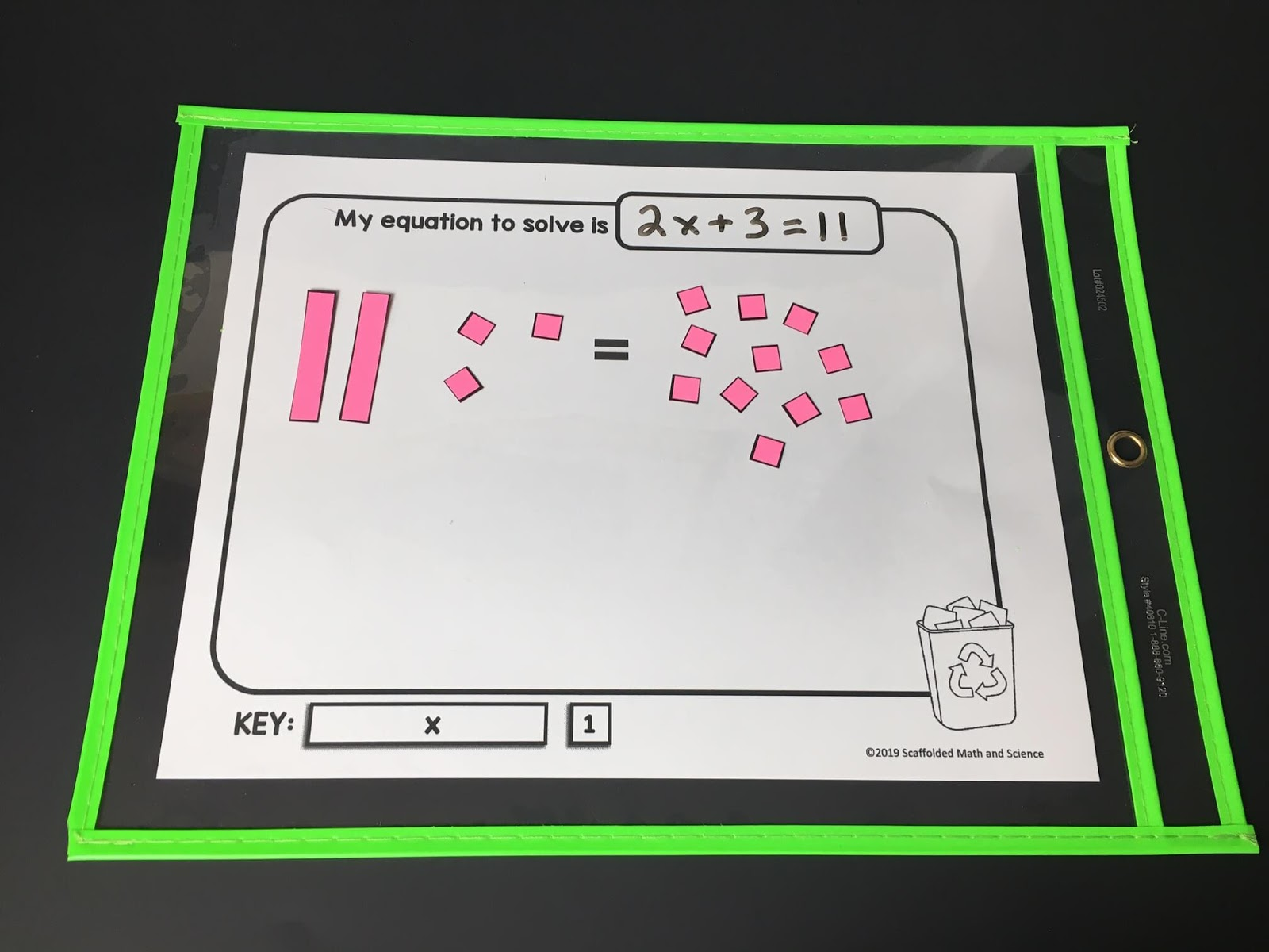 Scaffolded Math And Science Solving Equations Using