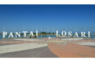 Tempat Wisata Pantai Losari Makassar Di Tutup Sementara Oleh Pemerintah Kota