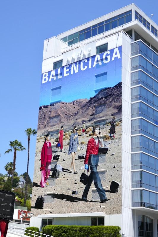 Giant Balenciaga Fal 2019 billboard