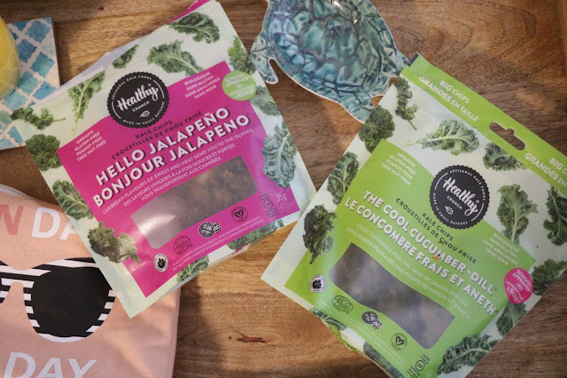 healthy crunch cool cucumber dill hello jalapeno kale chips