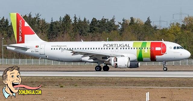 Aereolinea TAP Portugal volverá a operar en Venezuela el 15 de diciembre
