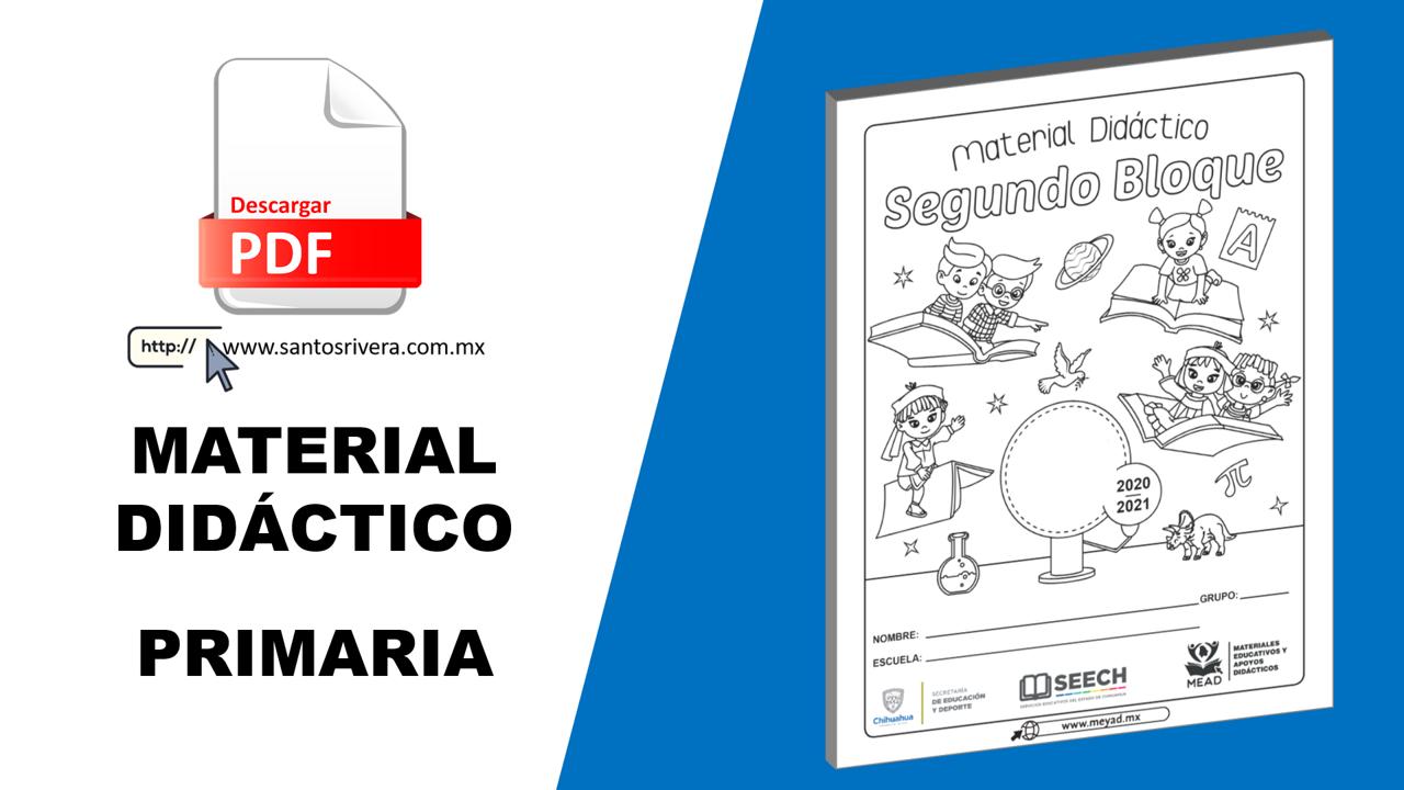 Cuadernillos de cada grado de primaria con actividades y ejercicios de acuerdo a los aprendizajes esperados del segundo periodo