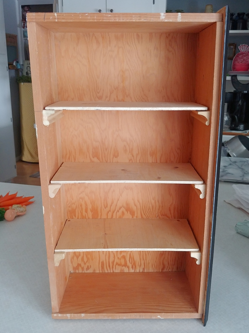 how to make shelves from a drawer