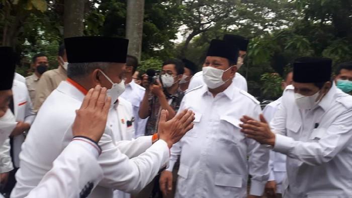 Tanggapan Prabowo soal Namanya Kerap Masuk Posisi Teratas Survei Capres 2024