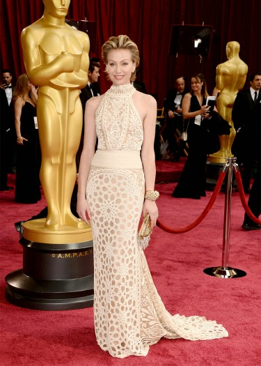 Portia de Rossi in Naeen Khan at the Academy Awards 2014