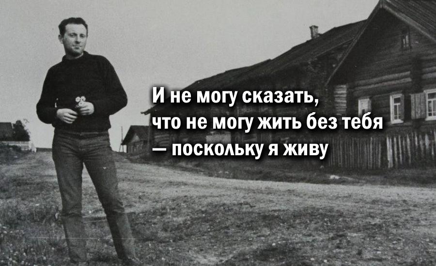 ТОП 10 Цитат Иосифа Бродского