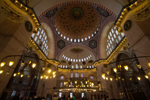Moschea del Sultano Solimano il Magnifico (Suleymaniye Camii)-Istanbul