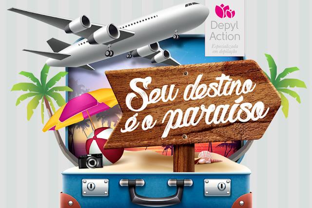 """Promoção """"Seu destino é o Paraíso"""" Blog Top da Promoção"""
