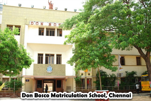 Don Bosco Matriculation School, Chennai