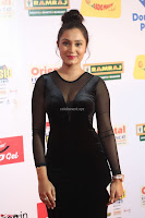 Vennela in Transparent Black Skin Tight Backless Stunning Dress at Mirchi Music Awards South 2017 ~  Exclusive Celebrities Galleries 084.JPG