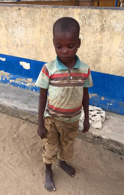 Photos: Danish aid worker Anja Ringgren Loven rescues another boy tortured and abandoned by his family in Akwa Ibom
