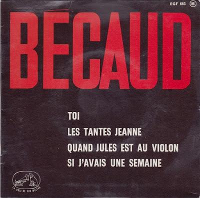 Gilbert Becaud  (EP) 1963 (FR) + Bonus