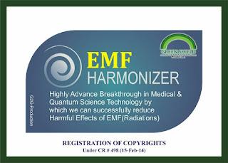 EMF Harmonizer, Radiation Protector (Pocket Card)