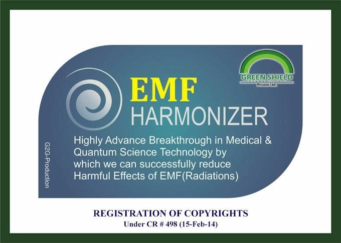 Electro Pollution ( Electro Magnetic Frequencies ) - A Silent Killer,   EMF Harmonizer ( Radiation Protector ) (Pocket Card)